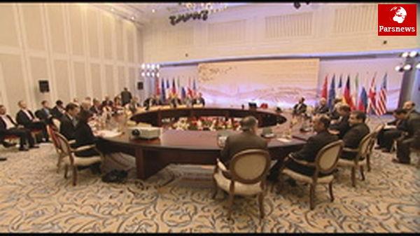 مذاکرات ایران و ۱+۵ آغاز شد
