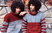 عکس پاییزی دوقلوهای مو فرفری پایتخت