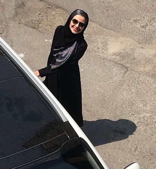 پوشش متفاوت خاله شادونه در خیابان + عکس