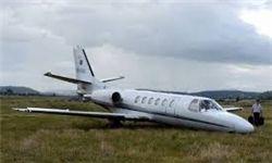 سقوط یک فروند هواپیمای کوچک در آلمان