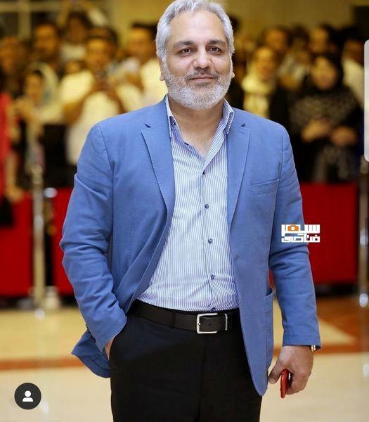 مهران مدیری با ظاهری متفاوت+عکس