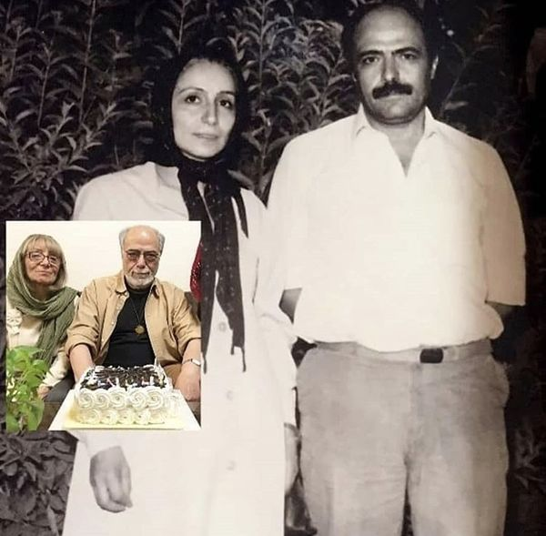 اکبر زنجانپور و همسرش در گذر زمان + عکس