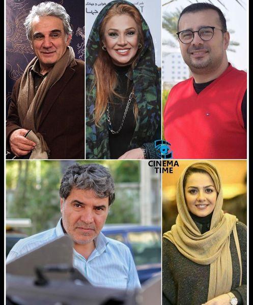 معرفی بازیگران سریال نوروزی کامیون