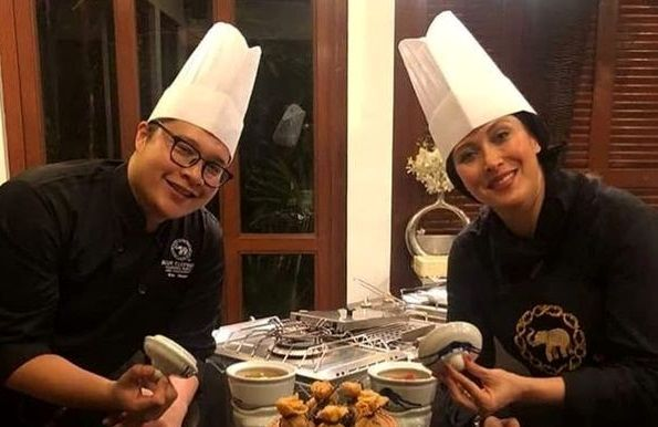مهتاب کرامتی سرآشپز رستوران بین المللی+عکس