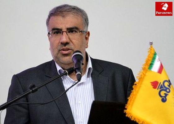 دستاوردهای گازی ایران در سال ۹۱