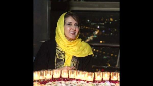 جشن تولد متفاوت خانم بازیگر در رستوران برج میلاد+عکس