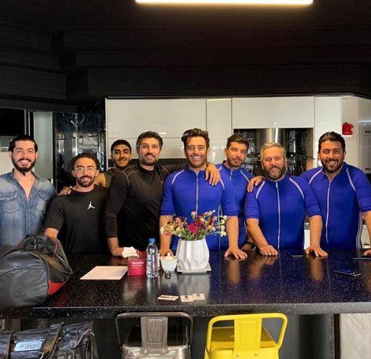 ست گلزار و دوستانش در یک کافه + عکس
