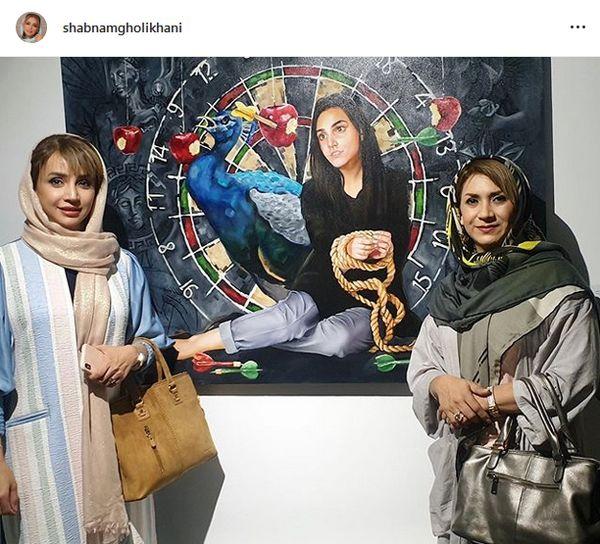 شباهت جالب شبنم قلی خانی به خواهر جانش+عکس