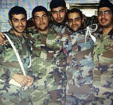 حسین مهری در سربازی+عکس