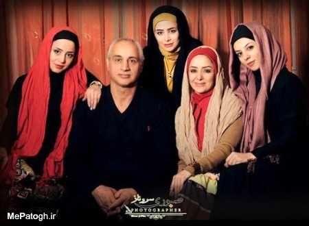 عکس خانوادگی الناز حبیبی