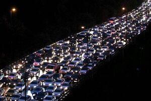ترافیک در محورهای مواصلاتی تهران
