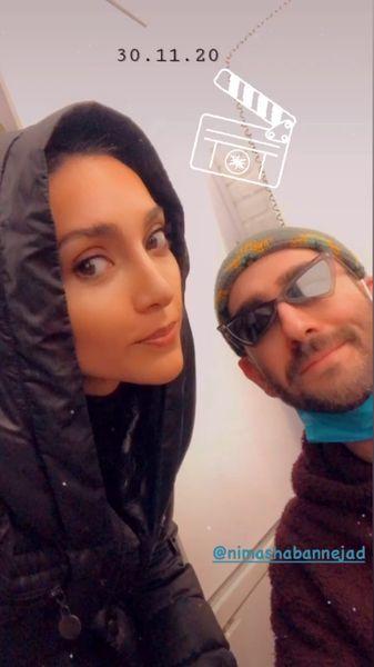 سلفی دو بازیگر ممنوعه پس از چند سال + عکس