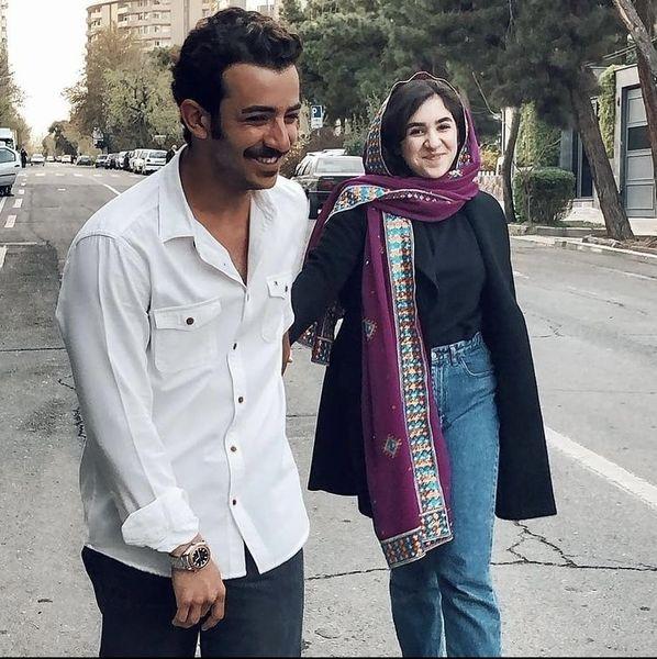 علی شادمان و خواهرش + عکس