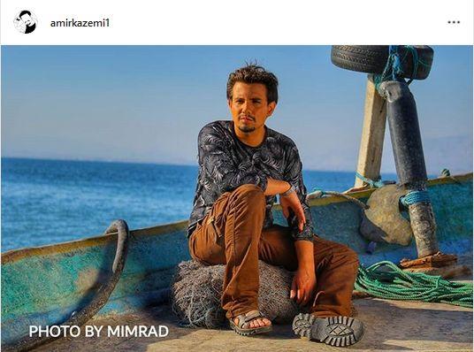قایق سواری بازیگر لیسانسه ها+عکس