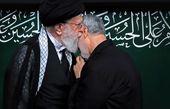 آخرین حضور شهید حاج قاسم سلیمانی در عزاداری بیت رهبری+عکس