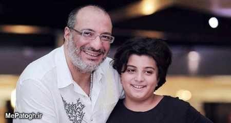امیر جعفری و پسرش + عکس
