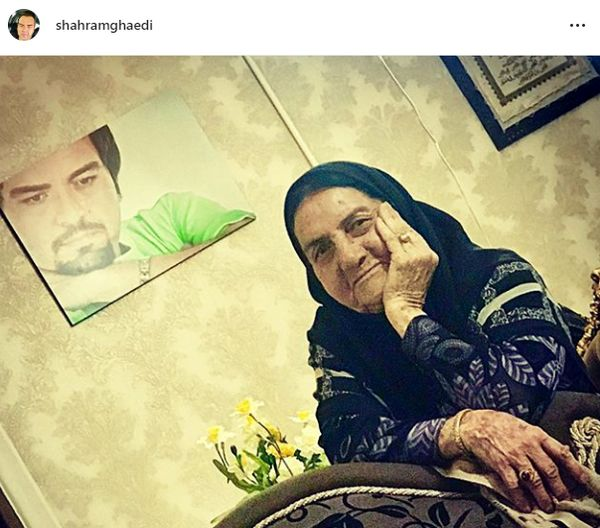 مادر کدئین دار شهرام قائدی+عکس