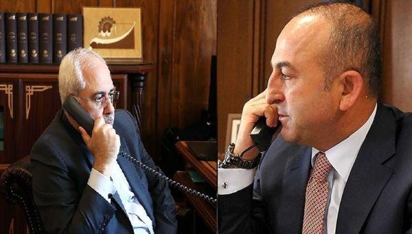 گفتوگوی تلفنی ظریف و چاووش اوغلو درباره وضعیت فلسطین