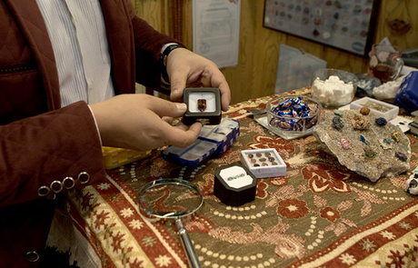 قاچاق سنگهای قیمتی از اصفهان به بندرعباس؟!