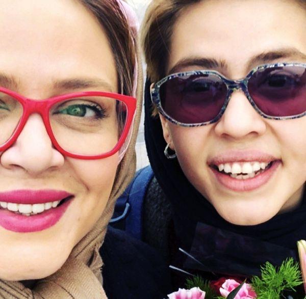 سلفی بهاره رهنما با دخترش + عکس