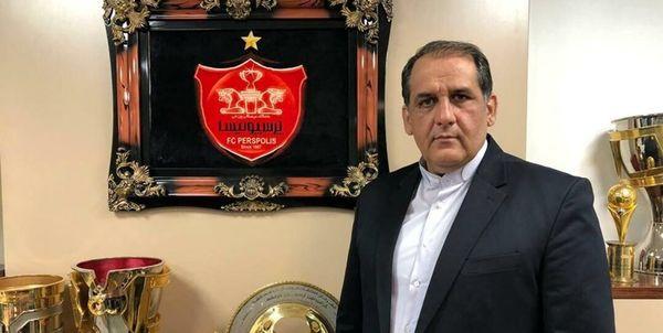 استعفای رسول پناه از سرپرستی باشگاه پرسپولیس