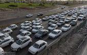ترافیک جاده چالوس سنگین است