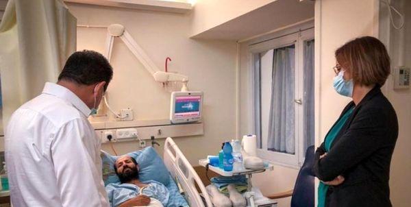 اسیر فلسطینی آماده شهادت است