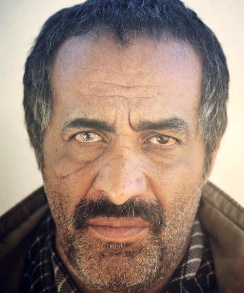 گریم دیده نشده از بازیگر حمال طلا + عکس