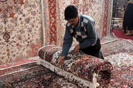 2500 نفر در صنعت فرش دستباف کشور فعال هستند