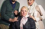 احسان خواجه امیری در کنار دو زن عزیز زندگی اش+عکس