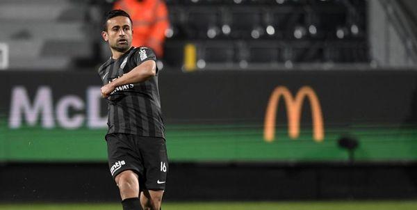 ابراهیمی در ترکیب الاهلی مقابل الوکره در لیگ ستارگان قطر