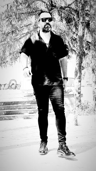 تیپ جنجالی شهرام قائدی + عکس