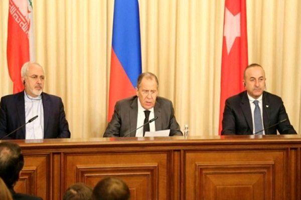 احتمال دیدار مجدد وزرای خارجه ایران، روسیه و ترکیه درباره سوریه