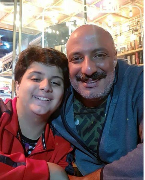امیرجعفری و پسر رشیدش+عکس