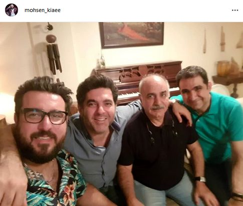 خبرهای خوش پرویز پرستویی و محسن کیایی+عکس