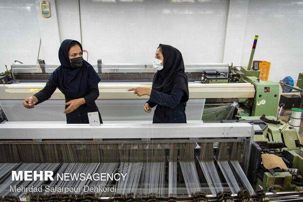 خط تولید چادر مشکی ایرانی - چهارمحال و بختیاری