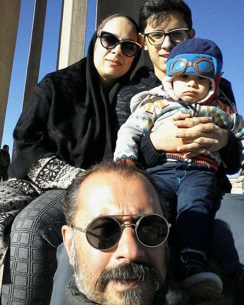 بدل مایلی کهن و خانواده اش+عکس