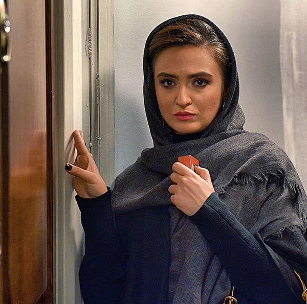 گریم متفاوت گلاره عباسی در شاهین + عکس