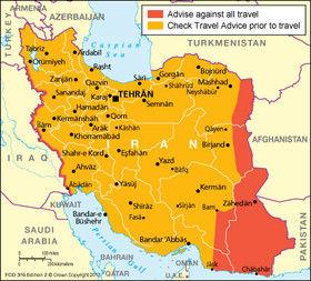 لغوممنوعیت سفر به ایران از طرف انگلیس
