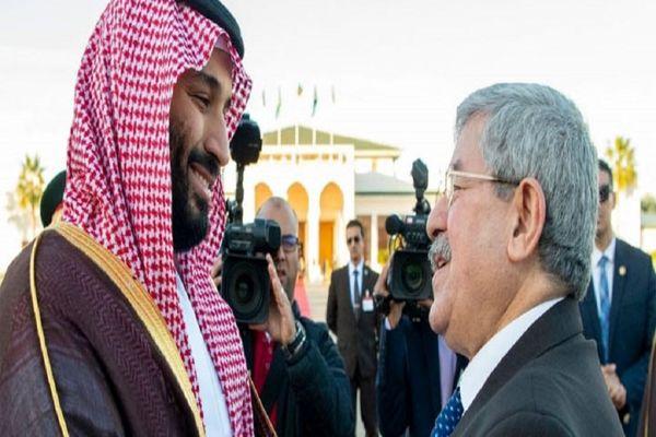 ولیعهد عربستان به دیدار خود از الجزایر پایان داد