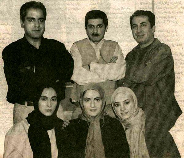 عکس گروه بازیگران مهران مدیری 17 سال قبل