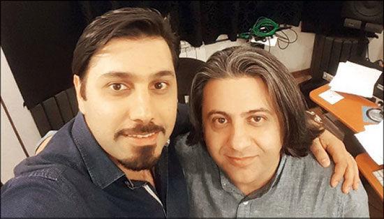 احسان خواجه امیری و دوست صمیمیش + عکس