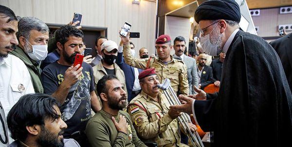 سفر آیت الله رئیسی به عراق پیام متمایزی داشت