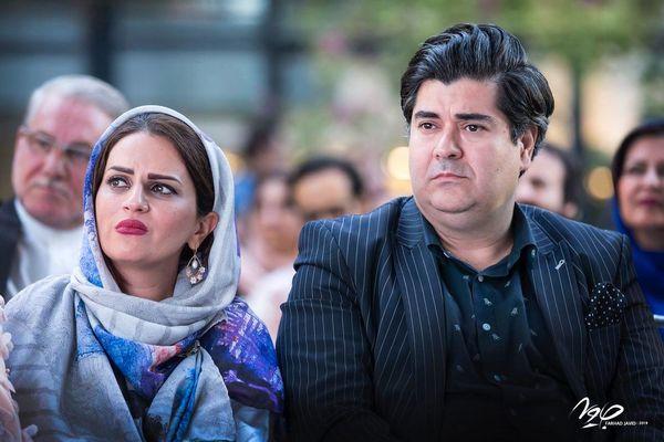 عکس سالار موسیقی ایران و همسرش