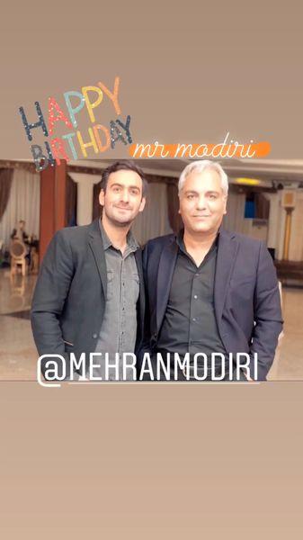 تبریکتولد پسر هیولایی مهران مدیری + عکس