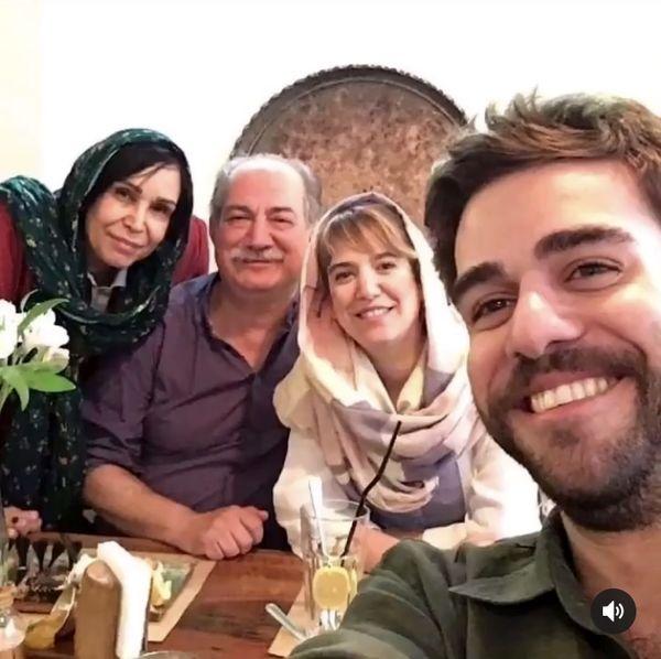 آتیلا پسیانی در جمع خانواده اش + عکس