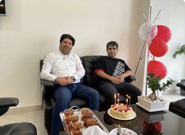 امیر نوری در تولد یکی از دوستانش + عکس