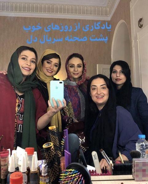 یادگاری مهراوه شریفی نیا از روزهای خوب دل + عکس