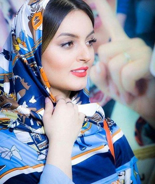 بازیگر زن ایرانی در کنار گروه موسیقی آلمانی+عکس
