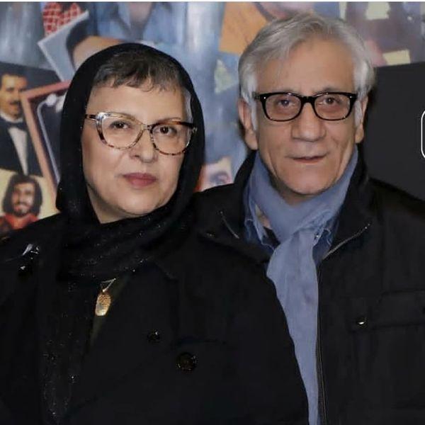 رویا تیموریان و همسرش + عکس